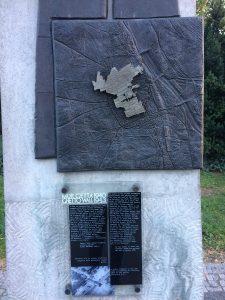 Pamätník venovaný tým, ktorí trpeli, bojovali, zahynuli (Zdroj: MT)