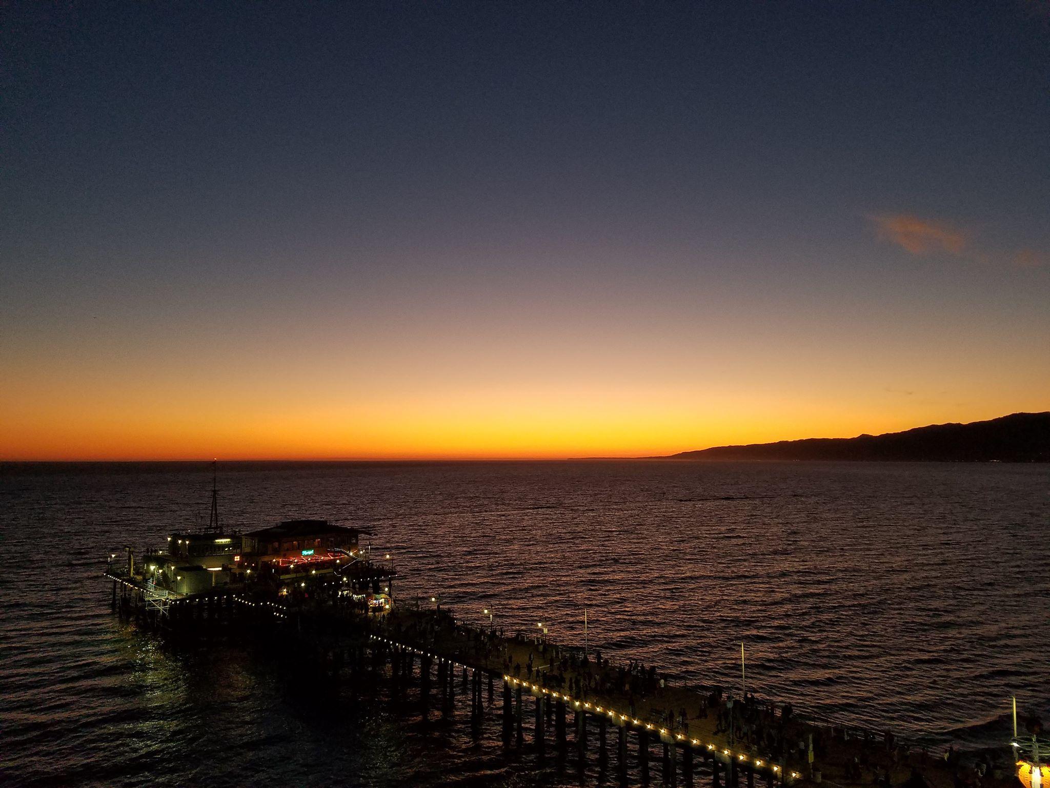 100 ročné mólo Santa Monica Pier (Zdroj: B.T.)